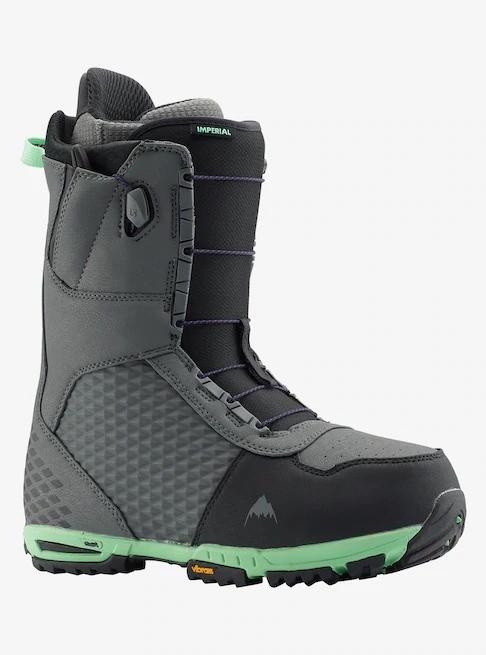 Купить со скидкой Ботинки для сноуборда мужские BURTON Imperial Gray/Green 2020