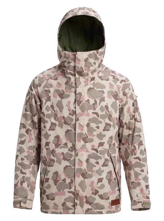 Купить со скидкой Куртка для сноуборда мужская BURTON Men's Hilltop Jacket Desert Duck