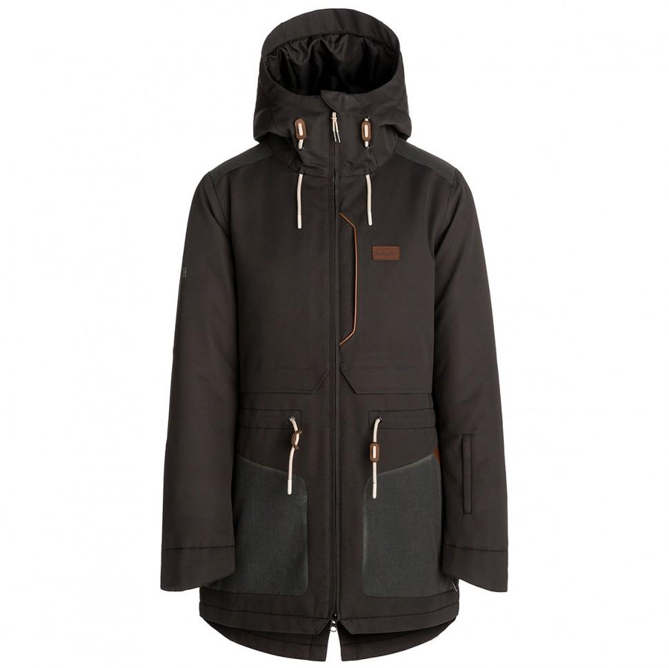 Купить со скидкой Куркта для сноуборда женская RIPCURL Amity Jacket Jet Black