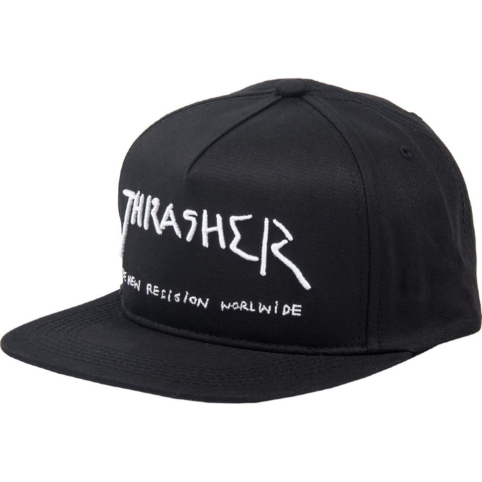 Бейсболка Thrasher New Religion Black