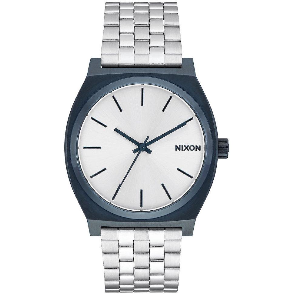 Часы NIXON Time Teller A/S Navy/Silver