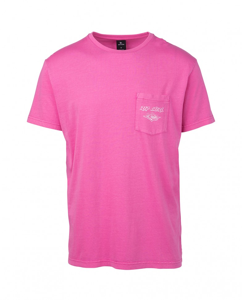 Футболка RIP CURL So Authentic Ss Tee Pink  фото