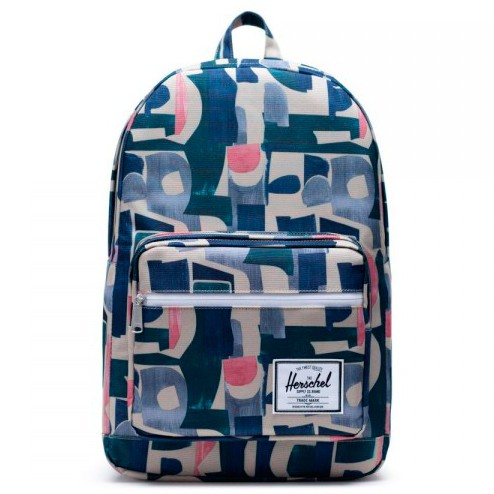 Рюкзак HERSCHEL Pop Quiz Abstract Block 22L  фото