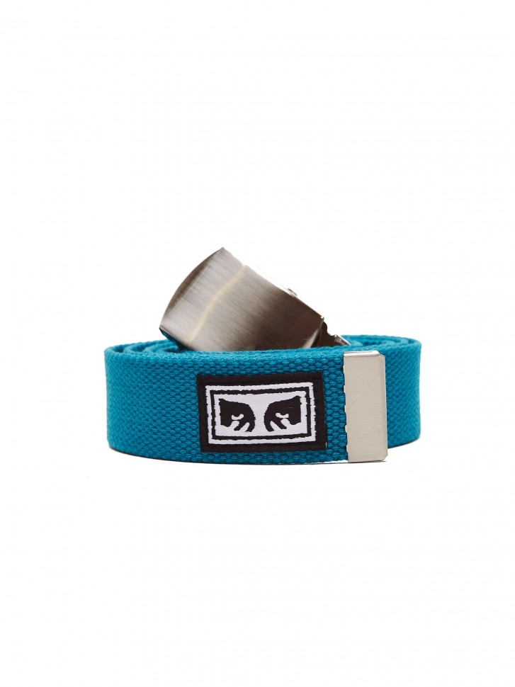 Ремень OBEY Big Boy Web Belt Blue Green  фото