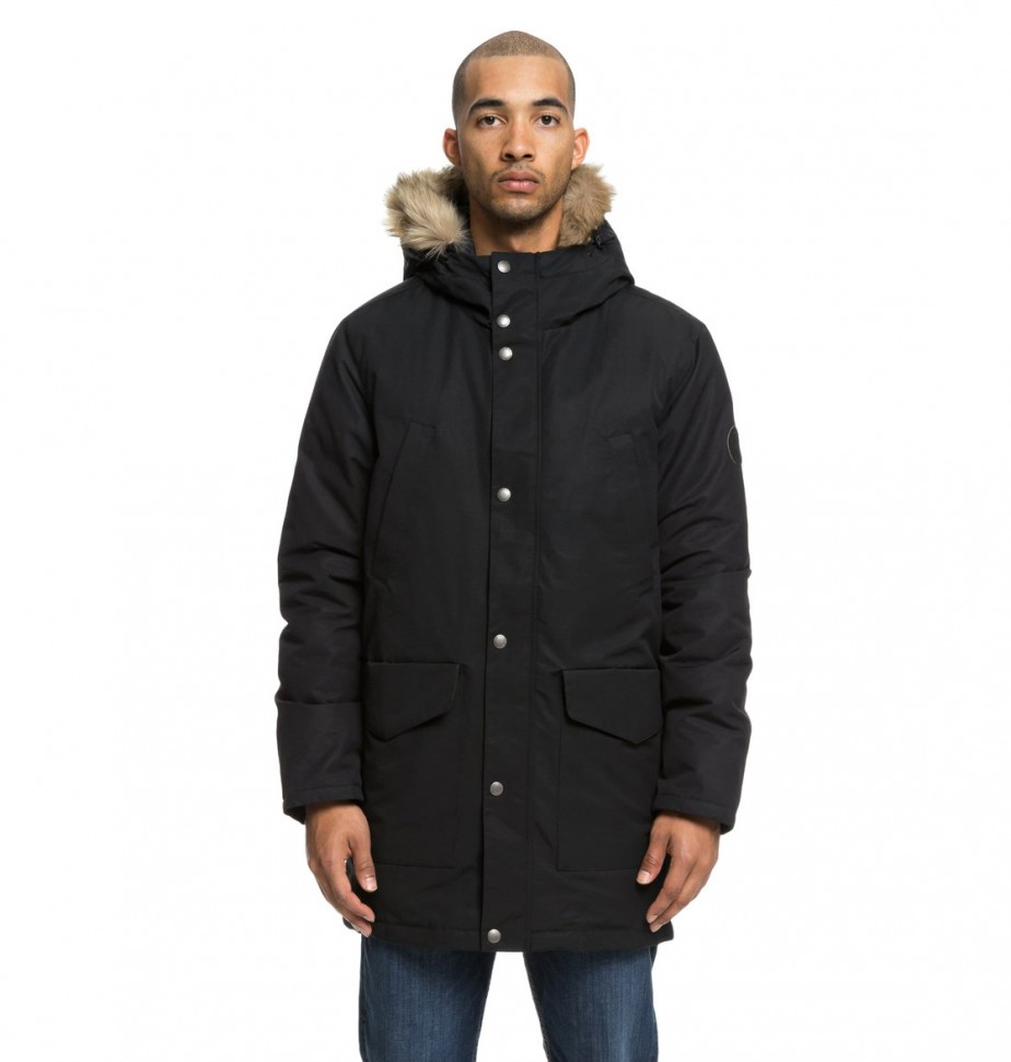 Куртка DC SHOES Bamburgh 2 M Black фото