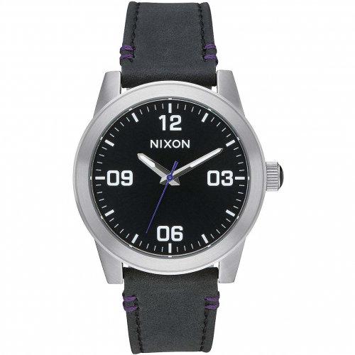 Часы NIXON G.I. Leather A/S Black
