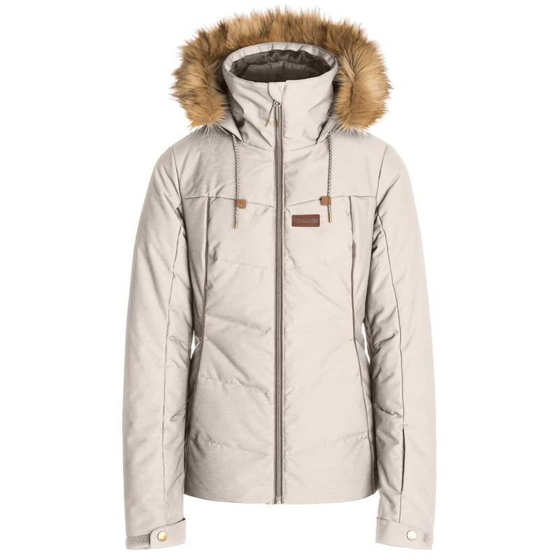 Купить со скидкой Куркта для сноуборда женская RIPCURL Fury Jacket Crystal Gray