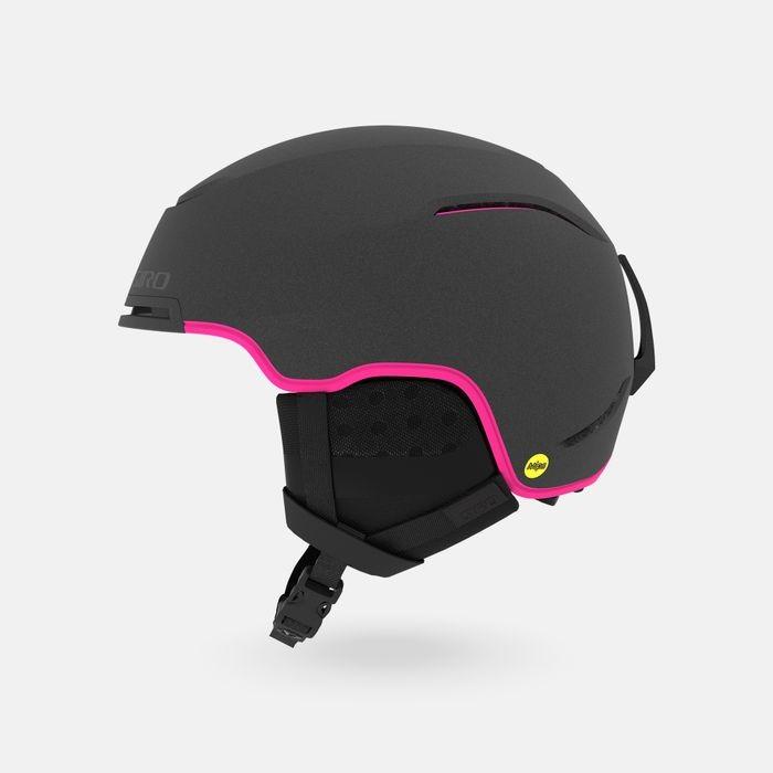 Шлем горнолыжный GIRO Terra Mips Matte Graphite/Bright Pink 2020 фото