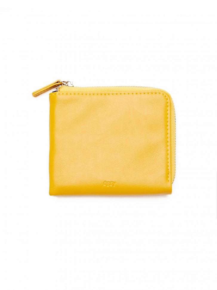 Бумажник OBEY Gentry Jumble Half Zip Wallet Energy Yellow