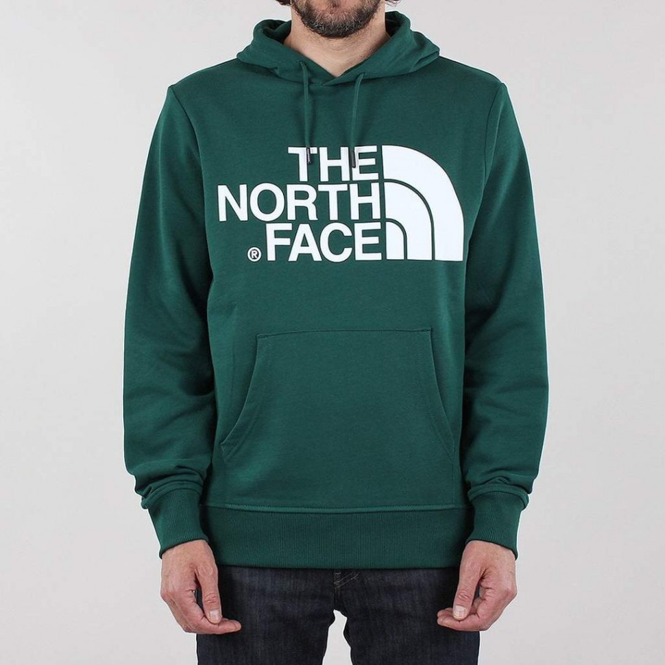 Худи THE NORTH FACE M Standard Hoodie Night Green фото
