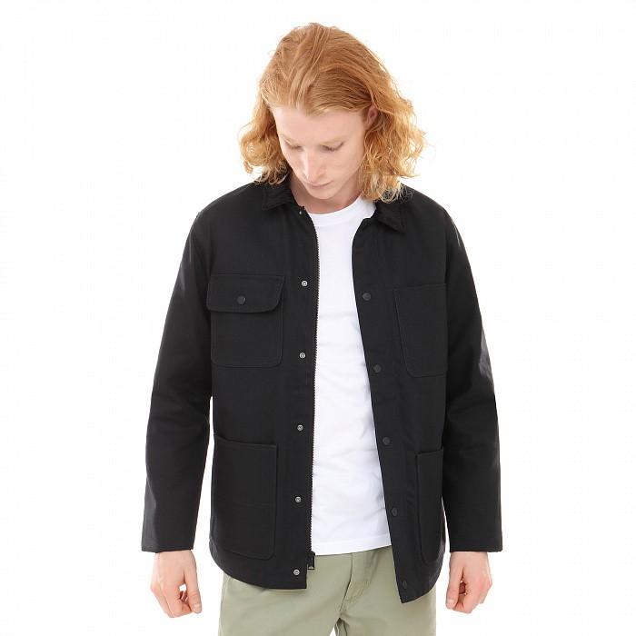 Куртка-рубашка VANS Drill Chore Coat Black 2020 фото