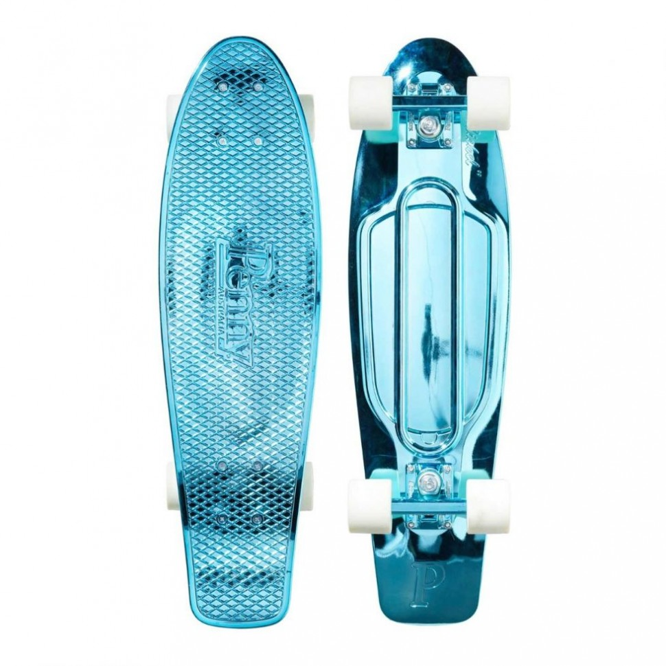 Комплект лонгборд PENNY Blue Metalic Solid 27