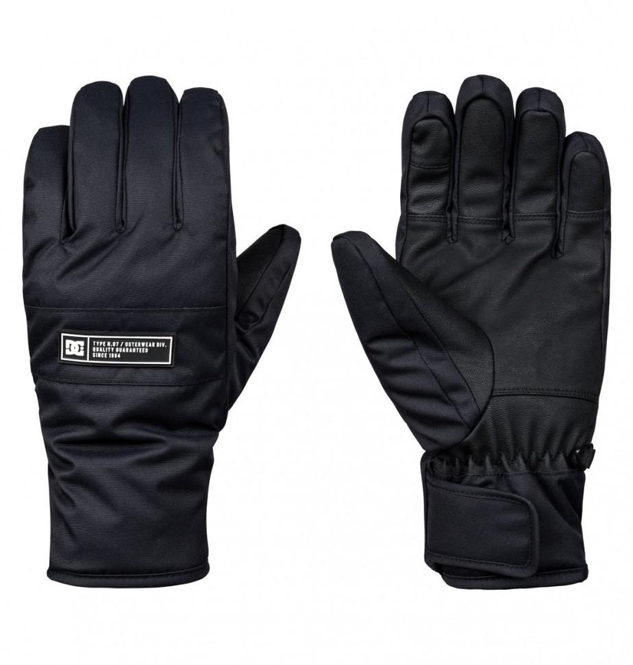 Перчатки для сноуборда мужские DC SHOES Franchise Glove M Black фото