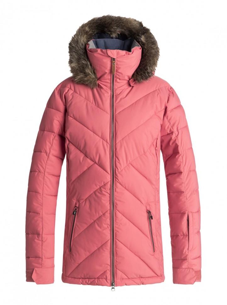 Купить Куртка Для Сноуборда Женская Roxy Quinn Jk J Dusty Cedar