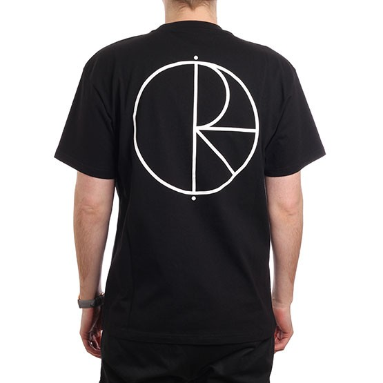 Футболка POLAR SKATE CO. Stroke Logo Tee Black  фото