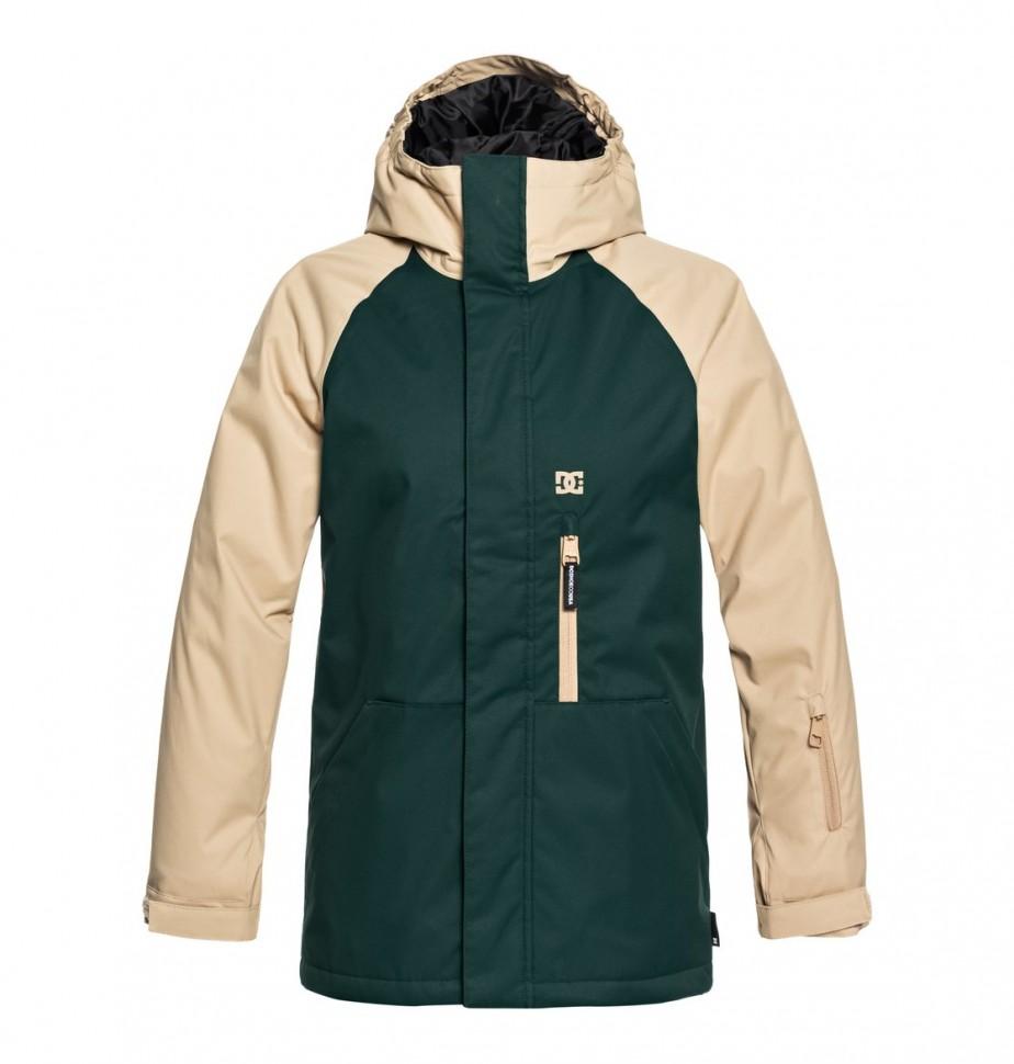 Купить со скидкой Куртка для сноуборда детская DC SHOES Ripley Youth B Pine Grove
