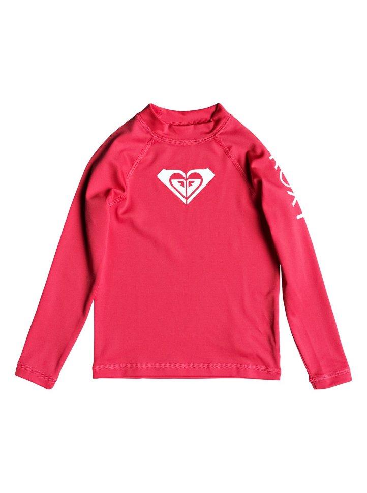 Гидрофуфайка для девочек ROXY Wholehearted Ls K Rouge Red