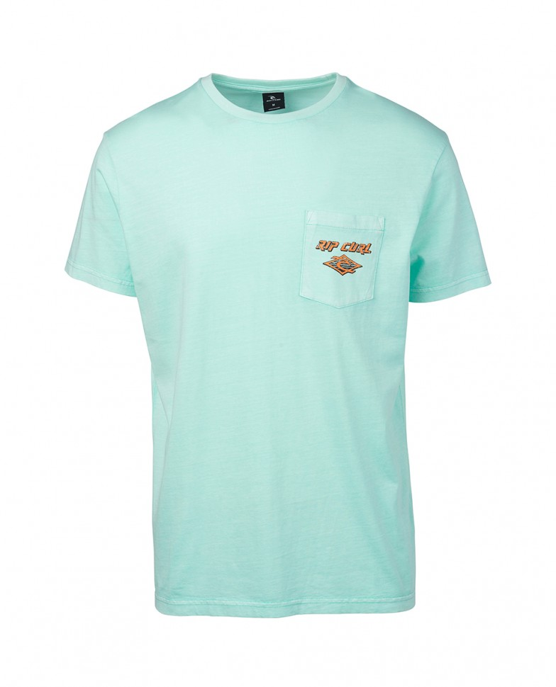 Футболка RIP CURL So Authentic Ss Tee Mint  фото