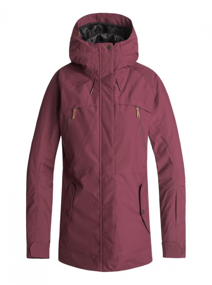 Куртка для сноуборда женская ROXY Tribe Jk J Beet Red
