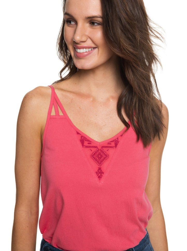Блузка женская ROXY Tropicalbliss J Rouge Red