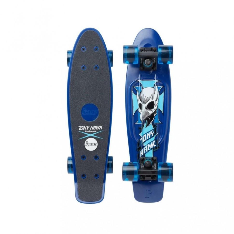 Комплект лонгборд PENNY Tony Hawk-Crest Blue 22