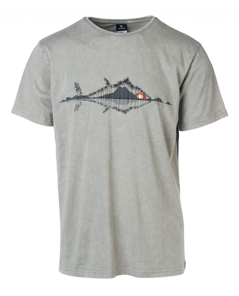 Футболка RIP CURL Peuchcaille Tee Neutral Grey фото
