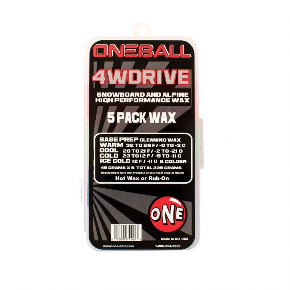 Парафин ONEBALL 4Wd - 5 Pack