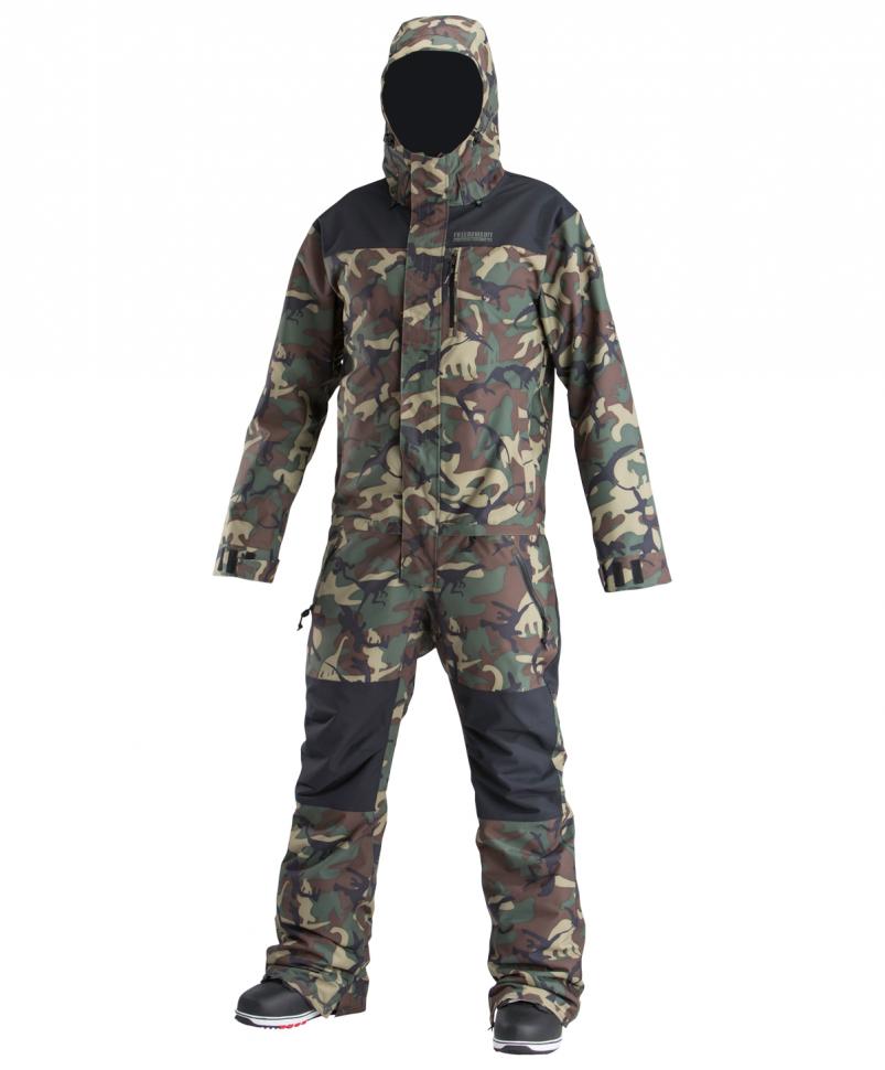 Купить со скидкой Комбинезон мужской AIRBLASTER Insulated Freedom Suit OG Dinoflage