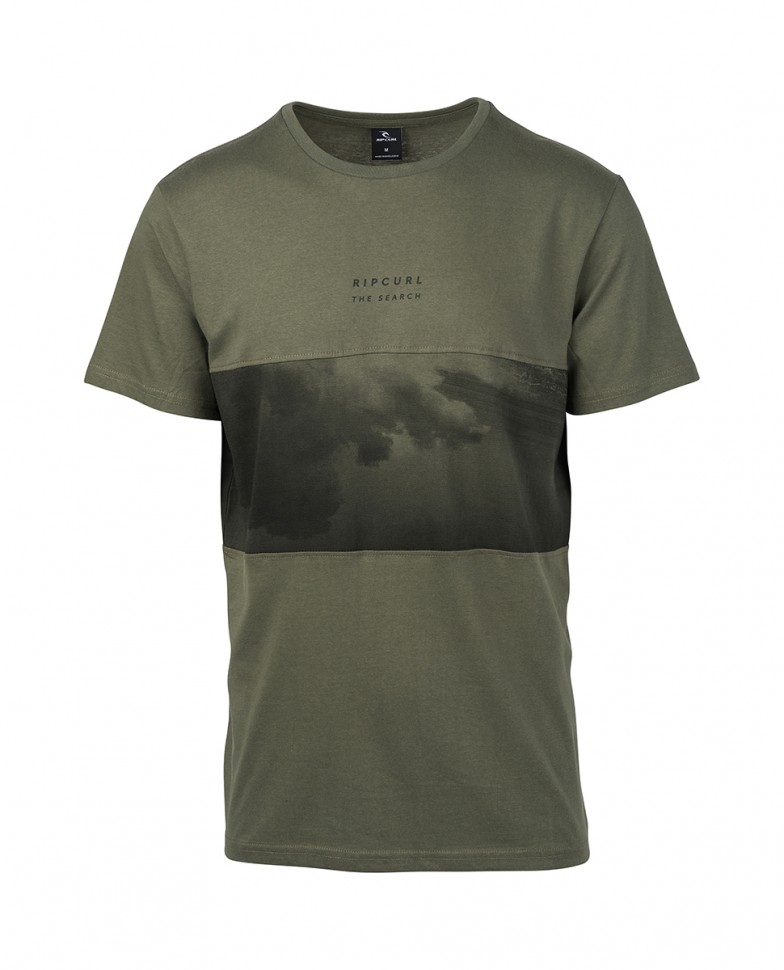 Футболка RIP CURL Busy Time Ss Tee Dark Olive