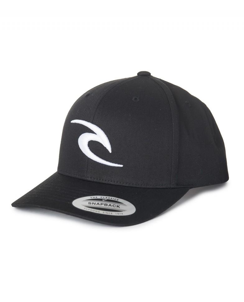 Купить со скидкой Бейсболка RIP CURL Rc Iconic Snapback Cap Black