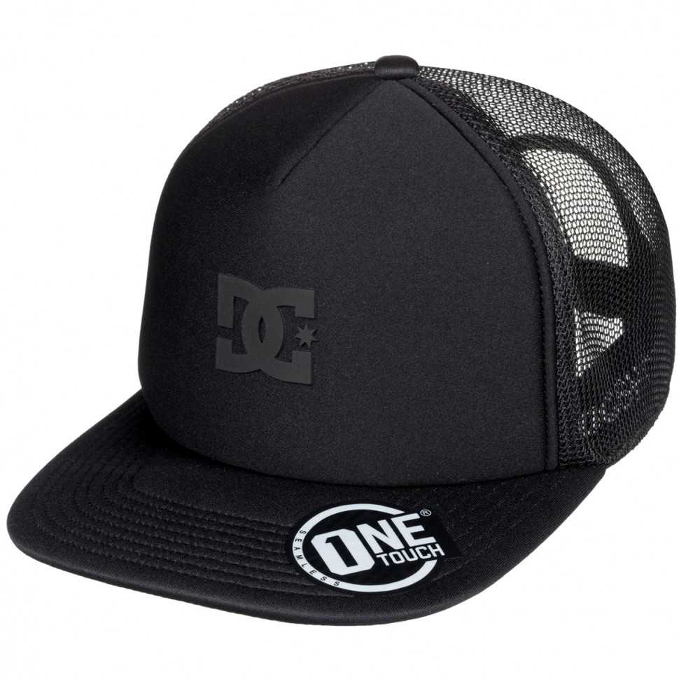 Кепка DC SHOES Greet Up Hdwr Black
