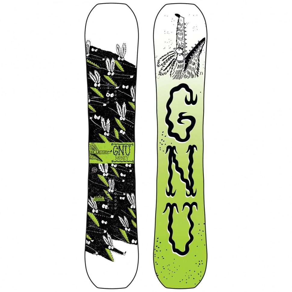 Сноуборд мужской GNU Money C2E 2020