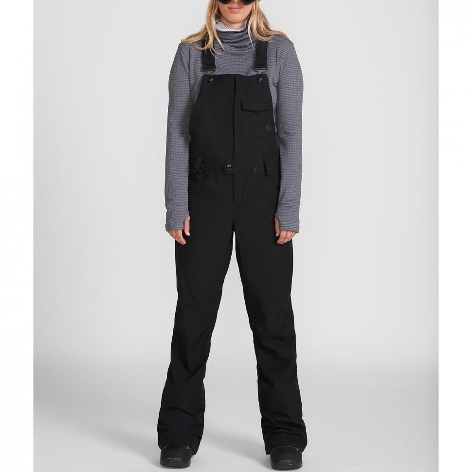 Штаны для сноуборда женские VOLCOM Swift Bib Overall Black фото
