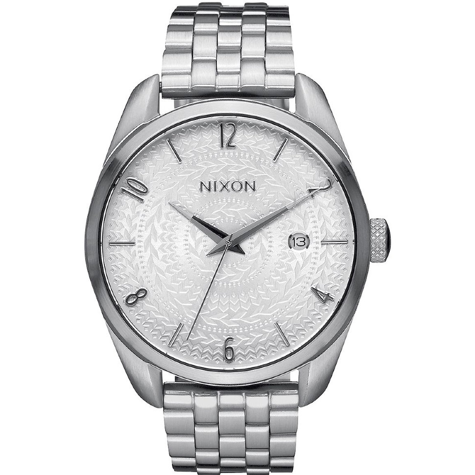 Часы NIXON Bullet A/S All Silver/Stamped