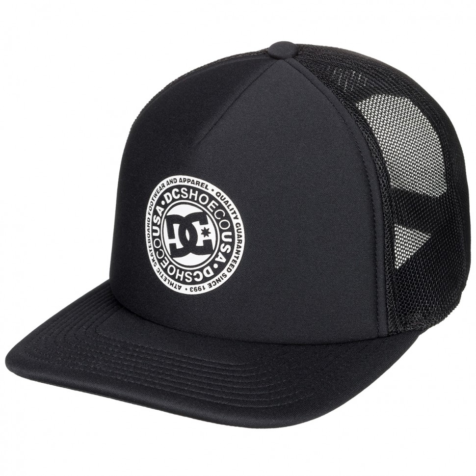 Кепка DC SHOES Vested Up Hdwr Black