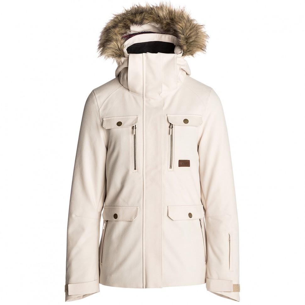 Купить со скидкой Куртка для сноуборда женская RIP CURL Chic Fancy Jacket Crystal Gray