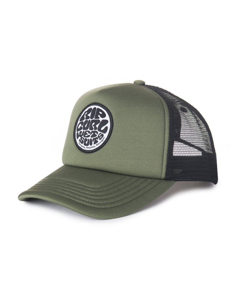 RIP CURL IGLOO, WETTY CURVED TRUCKER CAP