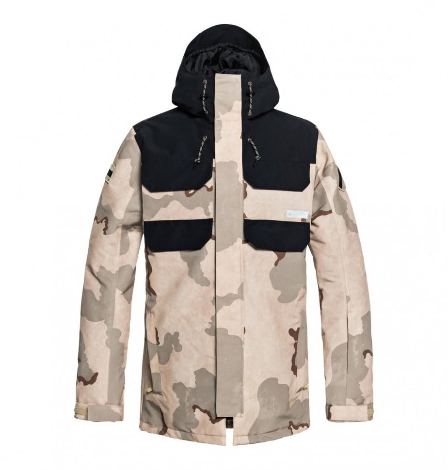 Куртка для сноуборда мужская DC SHOES Haven Jkt M Incense Dcu Camo Men