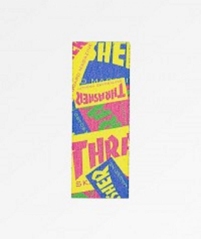 Купить со скидкой Шкурка Для Скейтборда MOB GRIP Thrasher Retro Graphic Strips