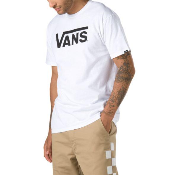 Футболка VANS Mn Vans Classic White/Black фото