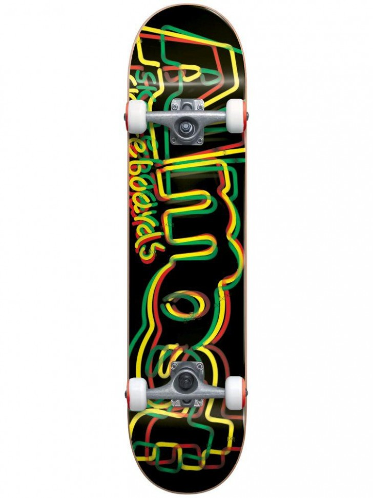 Скейтборд комплект Almost Neon First Plush Complete 8\
