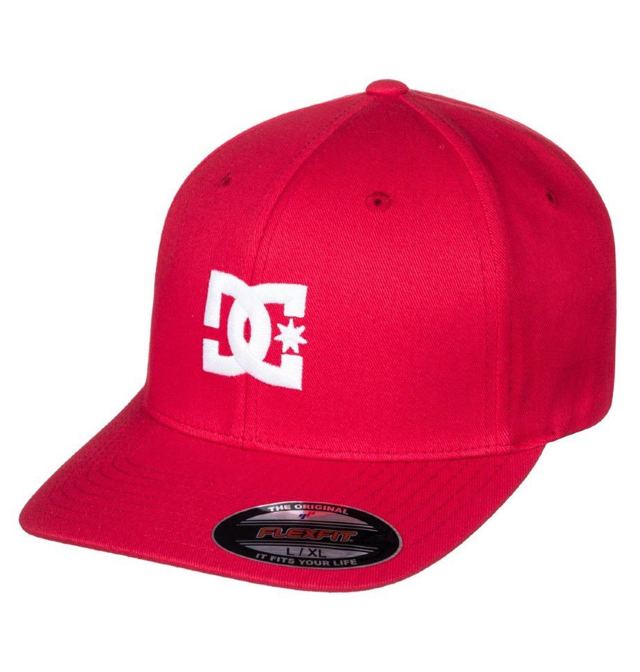 Купить со скидкой Кепка-бейсболка мужская DC SHOES Cap Star 2 Tango Red