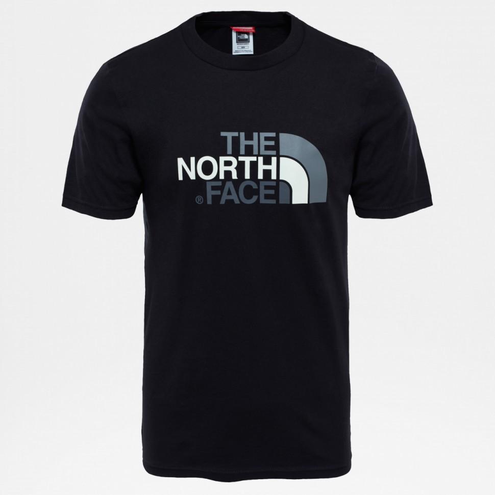 Футболка THE NORTH FACE M S/S Easy Tee Tnf Black