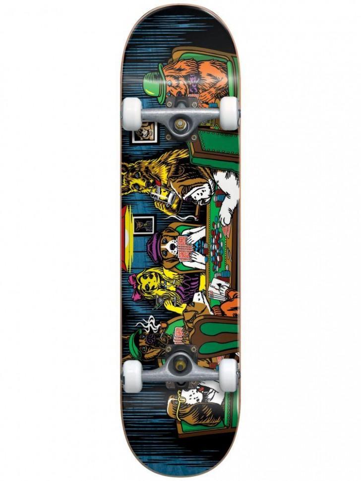 Скейтборд комплект Almost Dog Poker Premium Complete Complete 8