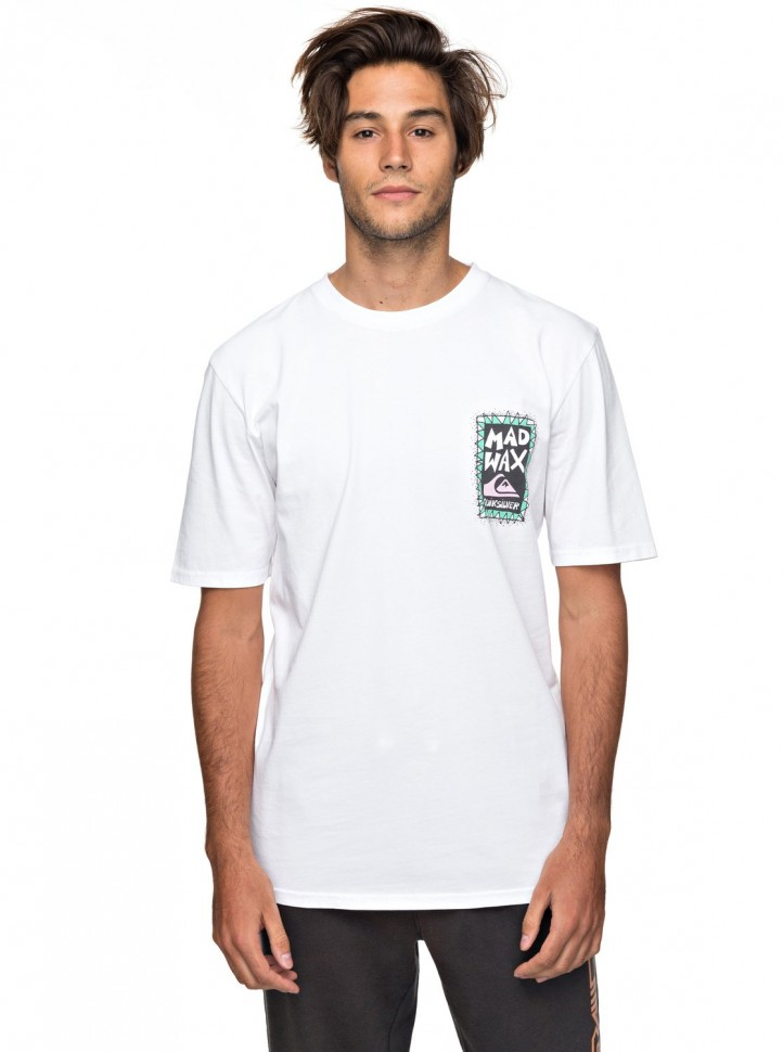 Футболка мужская QUIKSILVER Ghettosession M White