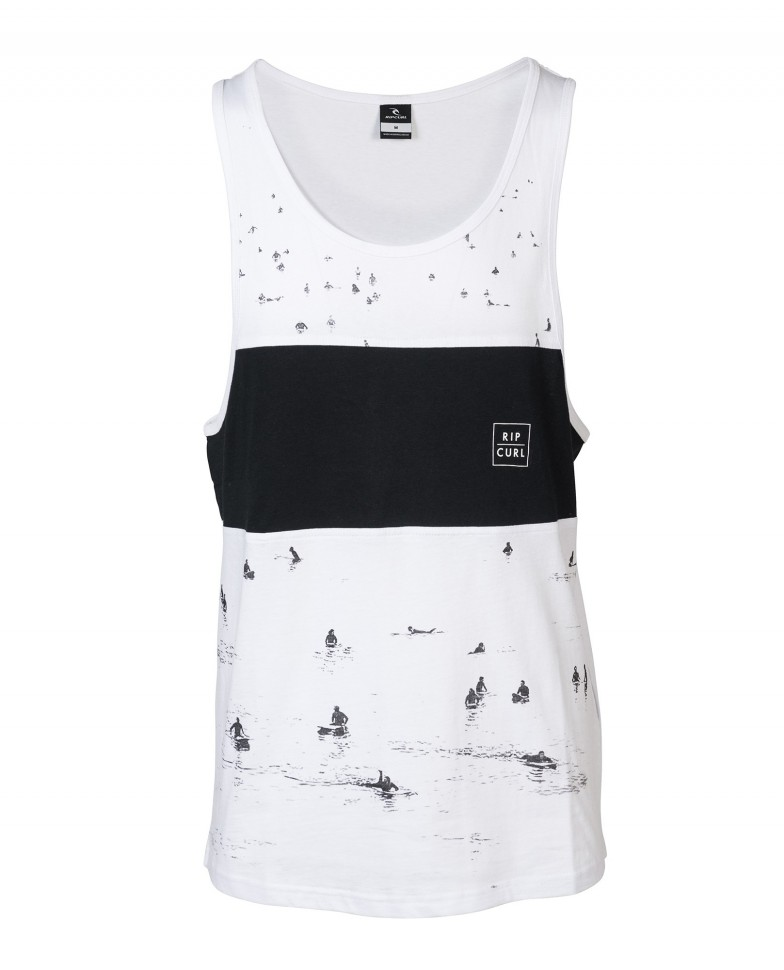 RIP CURL NEESH, GLASSY DAY TANK