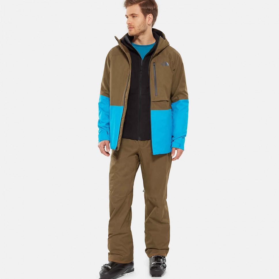 Купить со скидкой Куртка для сноуборда мужская THE NORTH FACE M Sickline Jacket Beech Green/Hyper Blue