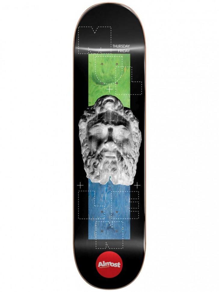 Дека для скейтборда ALMOST Mullen Stone Head Invert Impact Light 8.25