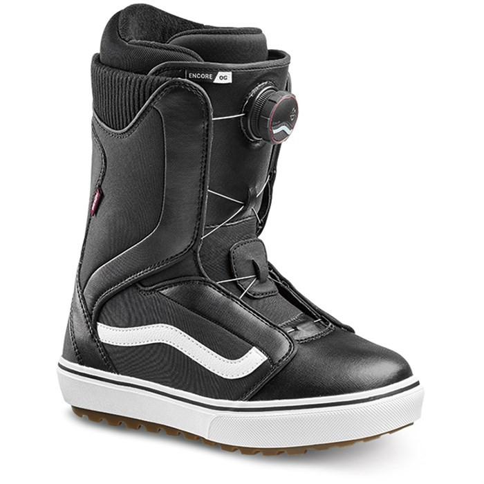 Купить со скидкой Ботинки для сноуборда женские VANS Encore OG Black/White