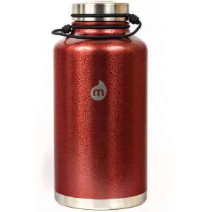 Термобутылка для воды MIZU Mizu V20 A/S Red Hammer Paint W/ Le Drip фото
